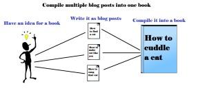 creaing a blog book