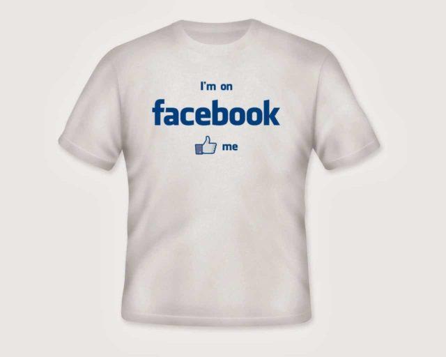 facebook tee shirt t