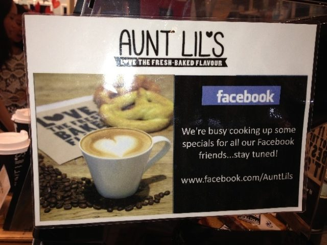 in store facebook promotion