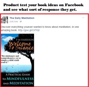 marketing self published book on facebook