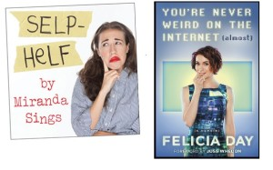 youtube personality booksby felicia day and miranda sings