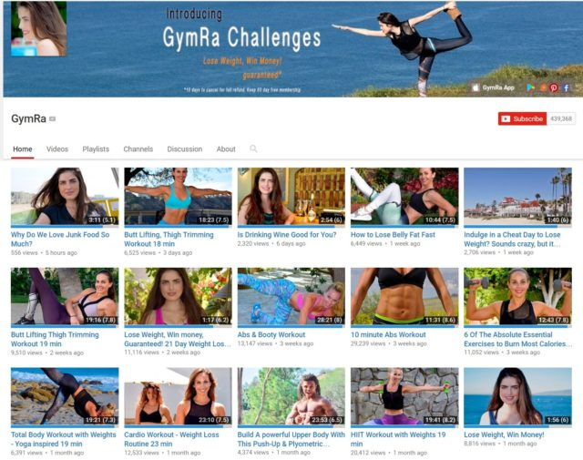 gymra youtube channel