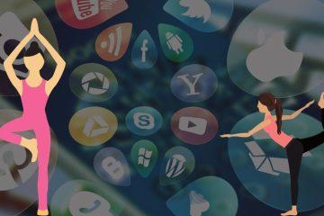 social media for yoga, meditation, spiritual